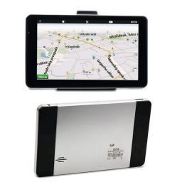 Новый 7 дюймов автомобиля DDR128MB 4 ГБ FM сенсорн ый экран gps-навигации спутниковой навигации RU / UKR / Ble / великобритания / ес бесплатные карты