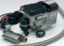 Установка автономных подогревателей и другого оборудования