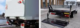 Гидроборты AHT Lift, MBB Palfinger, Hiab Zepro, Bär Cargolift