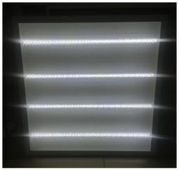 Светодиодный светильник встраиваемый 595x595