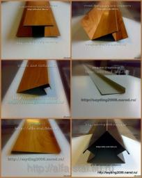 Планки для монтажа сайдинга металлического