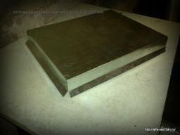 Колпак плоский на столб 400*500 оцинкованный
