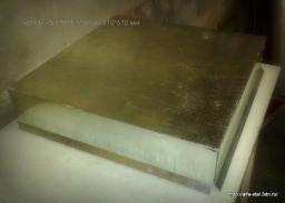 Колпак плоский на столб 510*510 оцинкованный
