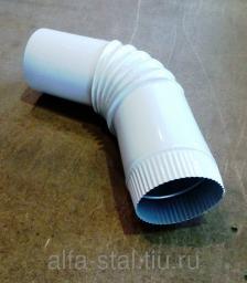 Колено водосточное / колено трубы цвет по RAL