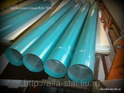 Труба водосточная окрашенная по каталогу RAL 5021