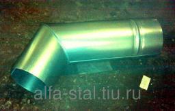 Колено трубы Д140 короткое