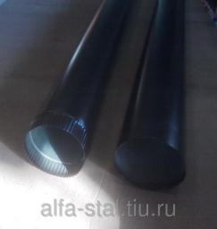 Труба водосточная цвет черный
