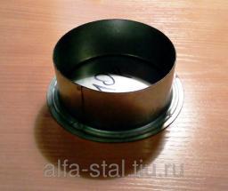 Заглушка трубы круглая Д100 или другой диаметр