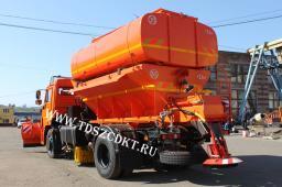 КДМ на шасси КамАЗ-43253 с двигателем Евро-3 (240 л.с.)