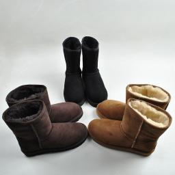 Женские непромокаемые ботинки из овчины , женская зимняя обувь mz020204