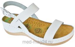 Босоножки женские LEON - 920 Белые