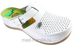 Обувь медицинская женская LEON - 900, 36, белые