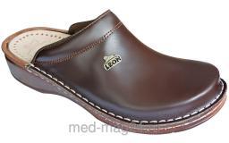 Обувь женская медицинская LEON -V-201 ,39, коричневый