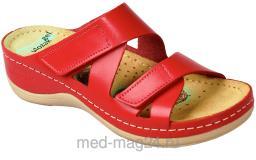 Обувь женская,босоножки LEON - 906,красные