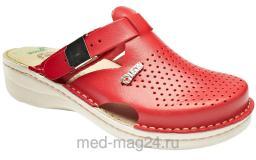 Обувь женская сабо LEON - V-260 Красные