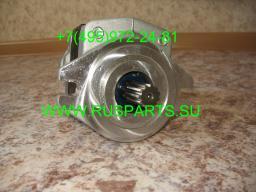 Насос гидравлики для погрузчика Hyster H2.50 DX с двигателем Yanmar 4TNE92