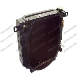 Радиатор охлаждения двигателя DB33 на погрузчик Daewoo D30 S