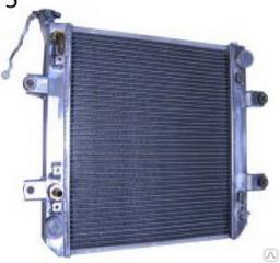 Радиатор для двигателя 4D94LE на погрузчик Komatsu FD25 T-20