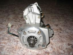 Стартер Hitachi ZX120, двигатель Isuzu CC4BG1-TCG