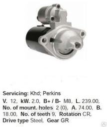 Стартер двигателя Perkins 700