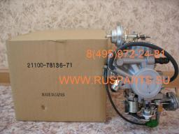 Карбюратор двигателя 5К на погрузчик Toyota 02-7FG15