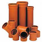 Трубы ПВХ канализационные ( для наружной канализации)