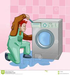 Течь воды из стиральной машины
