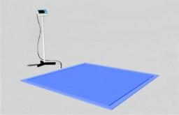 Врезные платформенные весы ВСП4-В 150/0.05 750х750 мм