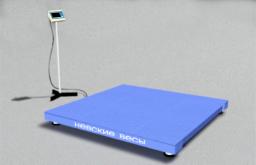 Напольные платформенные весы ВСП4-А 300/0.1 1000х750 мм