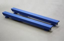 Стержневые платформенные весы ВСП4-1000.2С9 (1300х100х95)х2 мм