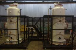 Установка адсорбционной подготовки газа