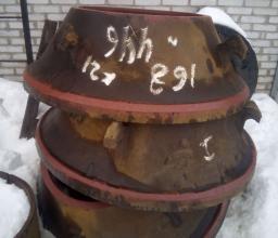 Броня неподвижная 1-79168-01 Конусная дробилка КМД-1200 Гр