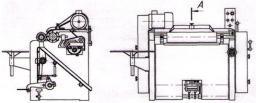 Машина кожевенная мездрильная М6-70
