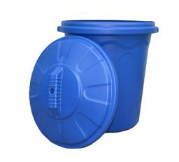 Пластмассовый бак для мусора. (арт. Б-120, 120 л)