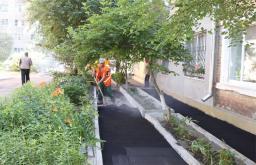укладка асфальта на готовое (бетонное) основание