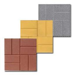 Цена вибролитой тротуарной(бетонной) плитки 8 кирпичей по самым низким ценам в Москве и Московской области.
