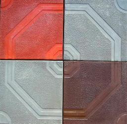 Тротуарная плитка Орнамент вибролитая 400х400х50 от производителя в Москве и Московской области.