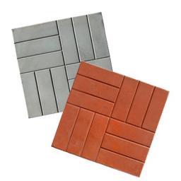 Тротуарная(бетонная) вибролитая плитка 12 кирпичей 500х500х50 от производителя для дачных участков и дорожек