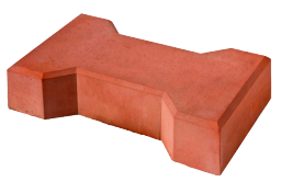 цена Вибролитой тротуарной(бетонной)плитки Катушка 225х88х60 за квадратный метр от производителя с доставкой в Москве и Области