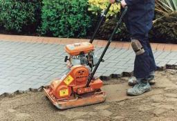 Технология работ по укладке тротуарной плитки и брусчатки на готовое основание