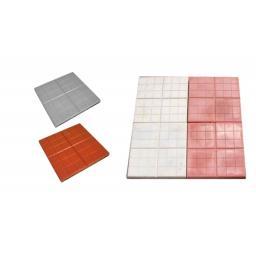 Купить тротуарную вибролитую плитку 350х350х50 от производителя с доставкой в Москве и Подмосковье