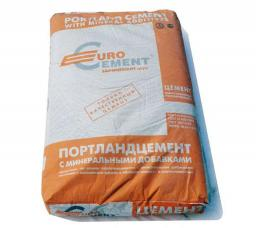 Цена Евро цемент марка М400 по самым низким ценам, с доставкой в Москве и Московской области