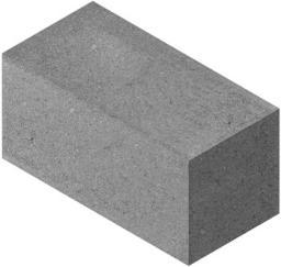 Строительные пескоцементные блоки полнотелые для цоколя по самым лучшим ценам