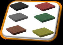 вибропрессованная тротуарная плитка Квадрат 330х330х60мм от производителя по самым низким ценам