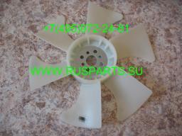 Крыльчатка вентилятор охлаждения двигателя Nissan TD27