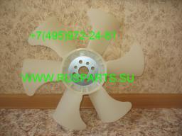 Крыльчатка вентилятор охлаждения радиатора на двигатель Nissan H20