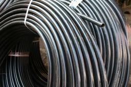 Труба ПНД электротехническая для кабеля d40 (2.3) мм. Cо склада в Москве.