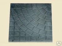 Тротуарная плитка от производителя ПАУТИНКА 400х400х50 (черная)