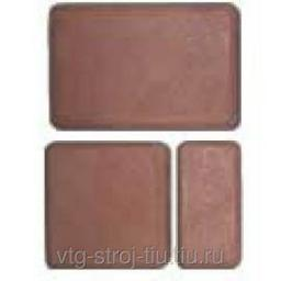 Бетонная тротуарная плитка БРУК ДВОЙНОЙ 180х120х60 (коричневая)