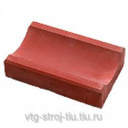 Бетонные ВОДОСТОКИ для тротуаров 350х160х60 (красная)